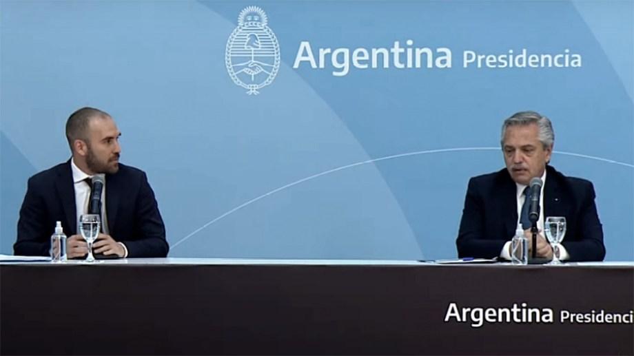 El ministro de Economía Martín Guzmán dio uno de los discursos con tono más político que se le recuerde.