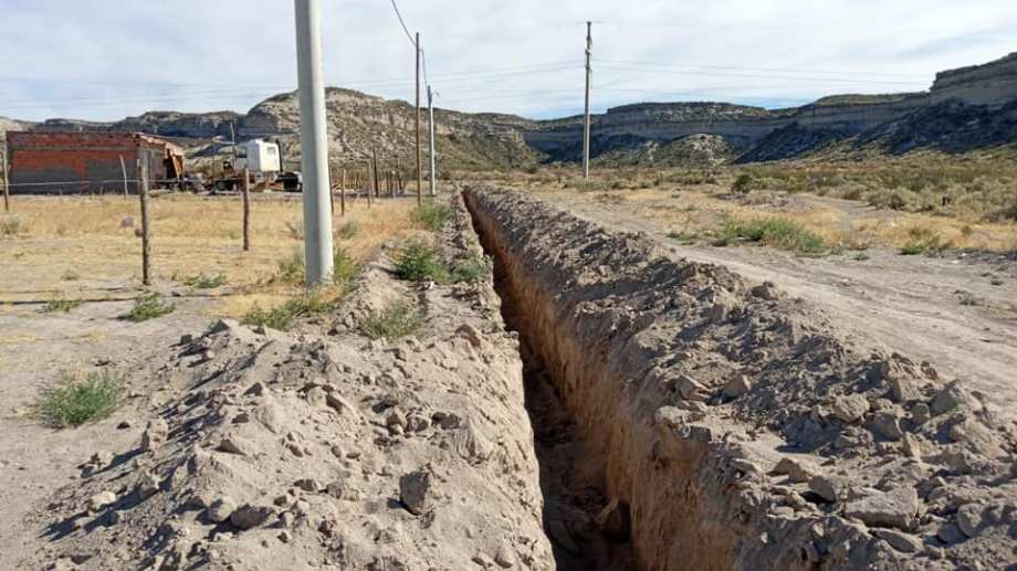 En el barrio Ceferino se extenderá la red cloacal con fondos de Nación. (Foto Néstor Salas)