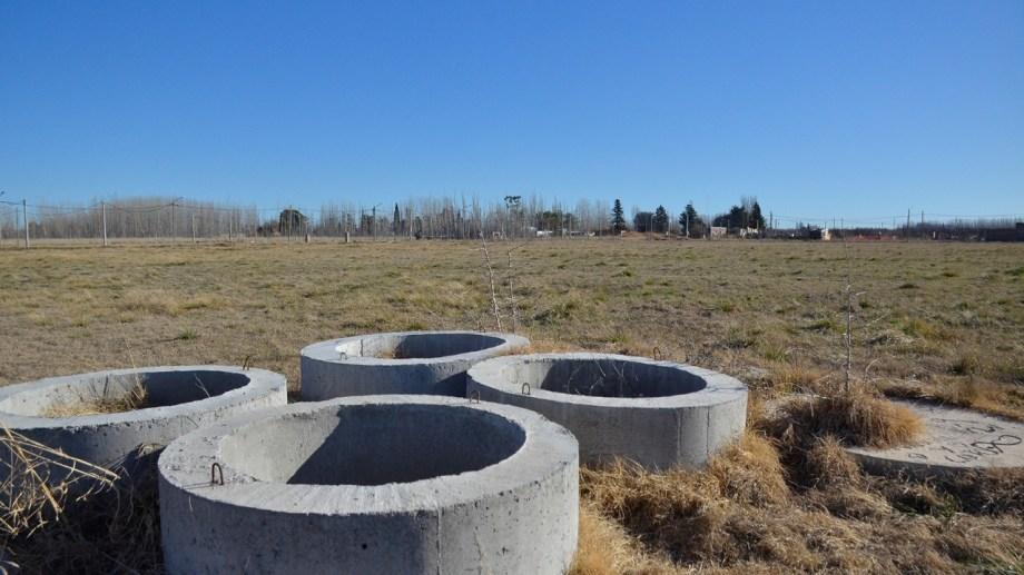 El ENOHSA aprobó el proyecto técnico para la obra de nexo cloacal. (Foto Néstor Salas)