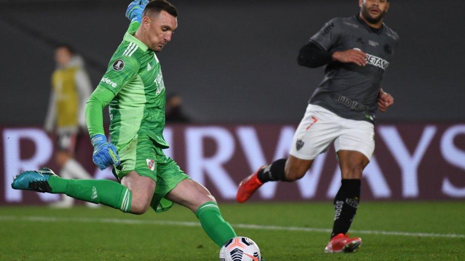 Franco Armani vuelve a la titularidad en River.