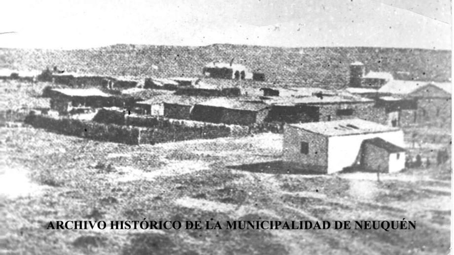 Neuquén venía de celebrar su primer cumpleaños como nueva capital del territorio. (FOTO: Gentileza Archivo Histórico Municipal)
