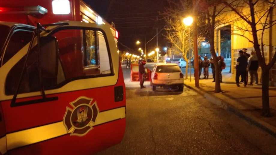 El incendio fue en Olascoaga y Entre Ríos. (Foto: gentileza).