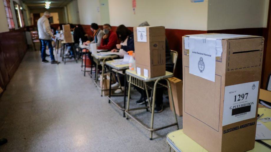 Hasta las 18, el porcentaje de votación a nivel nacional era del 67%.