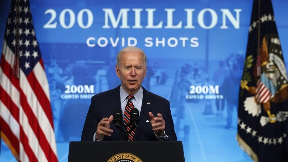 Hasta la fecha Estados Unidos donó unas 160 millones de dosis a más de 100 países diferentes (Foto AFP).