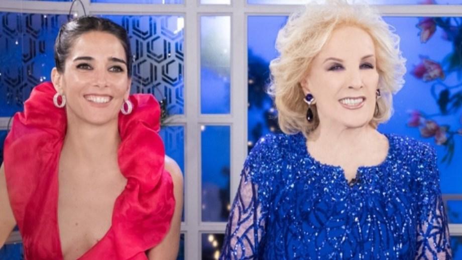 Desde el inicio de la pandemia, Juana Viale reemplaza a su abuela en la conducción del programa.