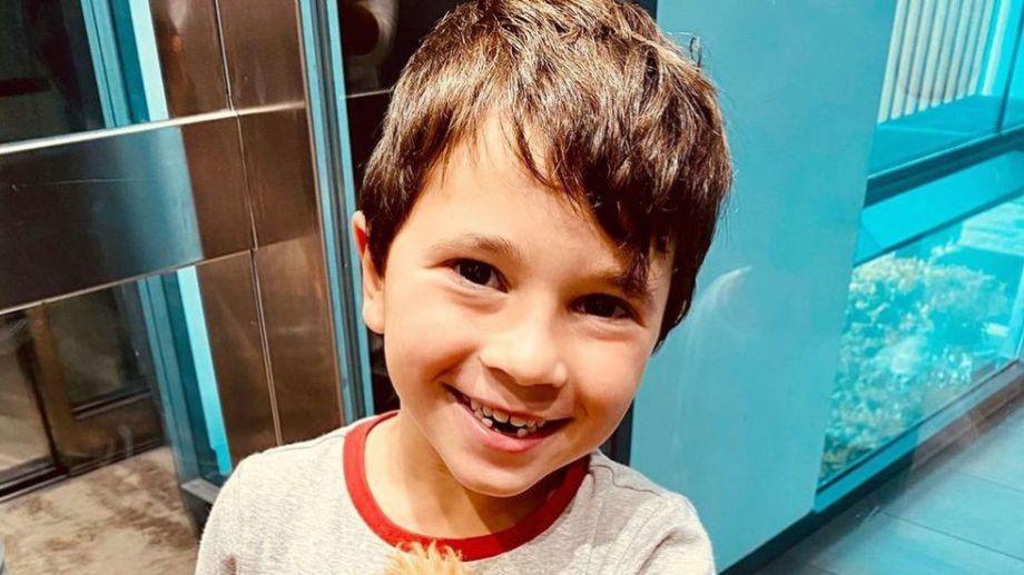 El segundo hijo de Messi ya es estrella en redes, por su simpatía y ocurrencias.-