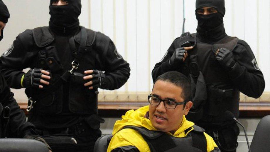 """Ariel Máximo """"Guille"""" Cantero, fue condenado a 22 años de cárcel."""
