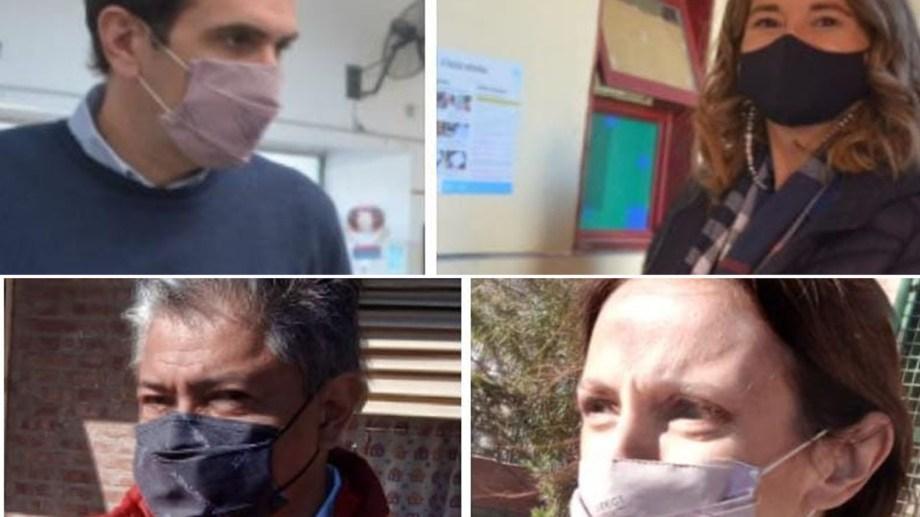 Los candidatos y referentes de Neuquén votaron esta mañana en las PASO.