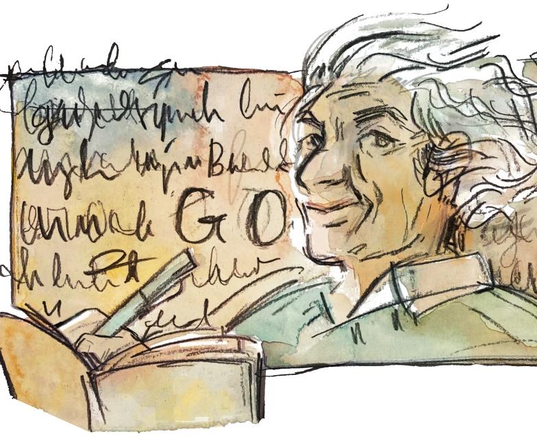 Se cumplen 107 años del nacimiento de Nicanor Parra: el homenaje de Google con un doodle