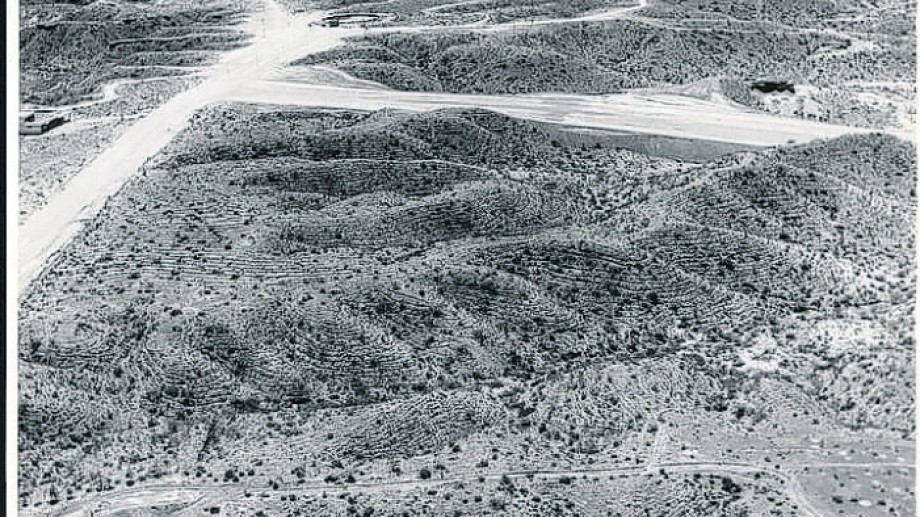Así lucía la zona en 1967. (FOTO: Archivo Histórico Municipal)