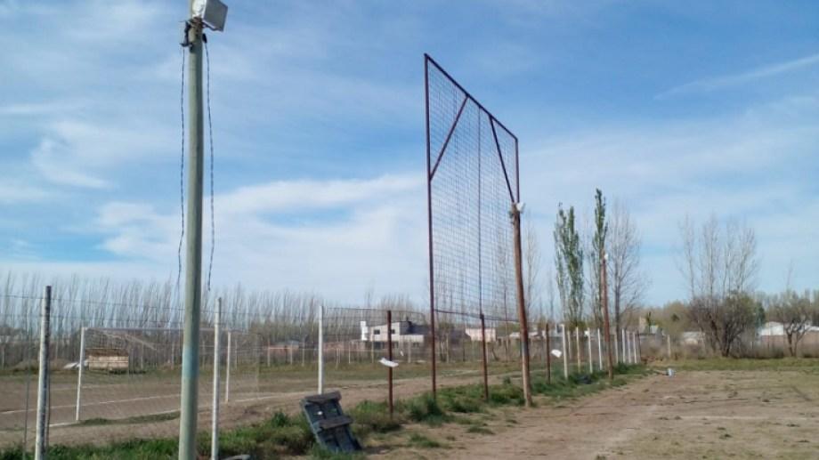Robaron 150 metros de cables del tendido eléctrico. Foto: gentileza