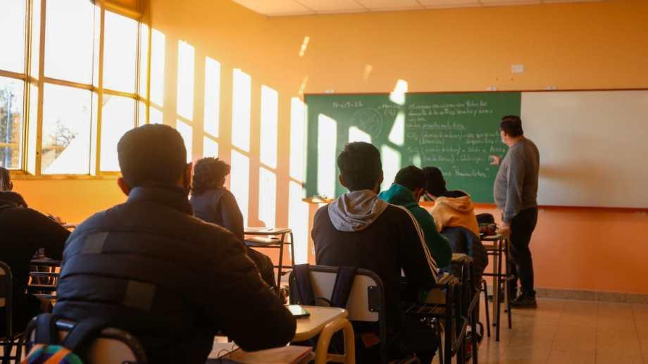 Las clases con presencialidad plena se reanudan este martes. (Foto: Juan Thomes)