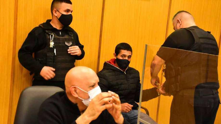 El padrastro de Nahiara fue condenado a cadena perpetua este mediodía. Foto: Cesar Izza