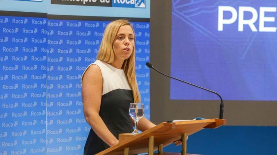 La intendenta María Emilia Soria presentó el presupuesto y analizó la derrota del Frente de Todos en Río Negro. (foto: Juan Thomes)
