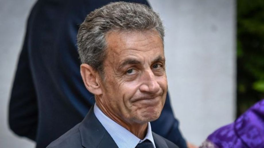 Nicolás Sarkozy, expresidente de Francia.