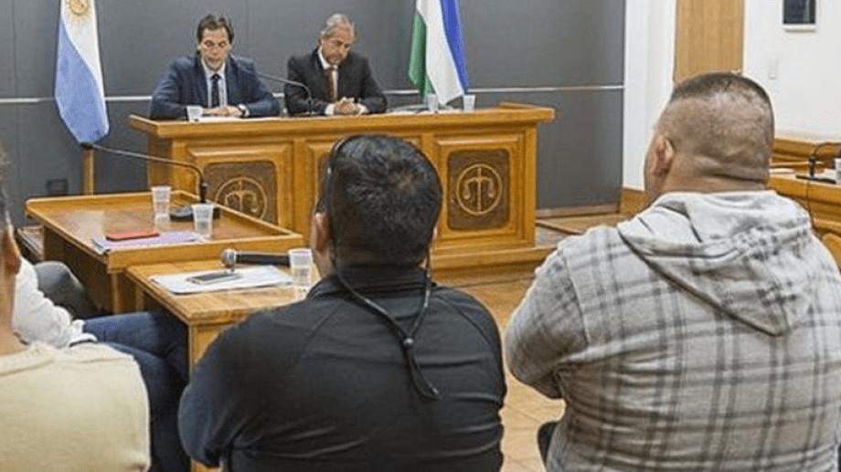Los jueces Bernardo Campana (a la izquierda) y Gregor Joos integraron el tribunal que condenó al imputado. (foto gentileza)
