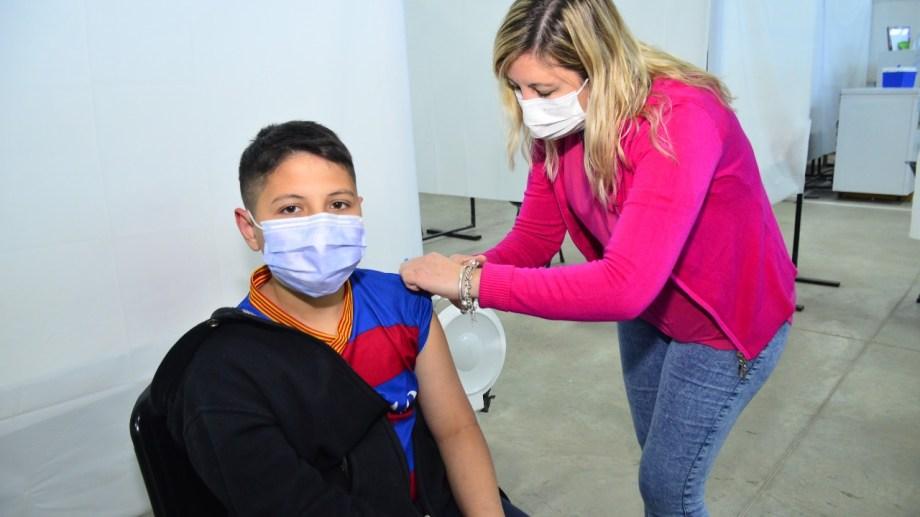 El vacunatorio de Regina aplicará primeras dosis con la vacuna Moderna. (Foto Néstor Salas)