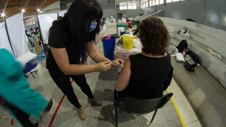 La vacunación se extenderá durante estos días. Foto: Pablo Leguizamon