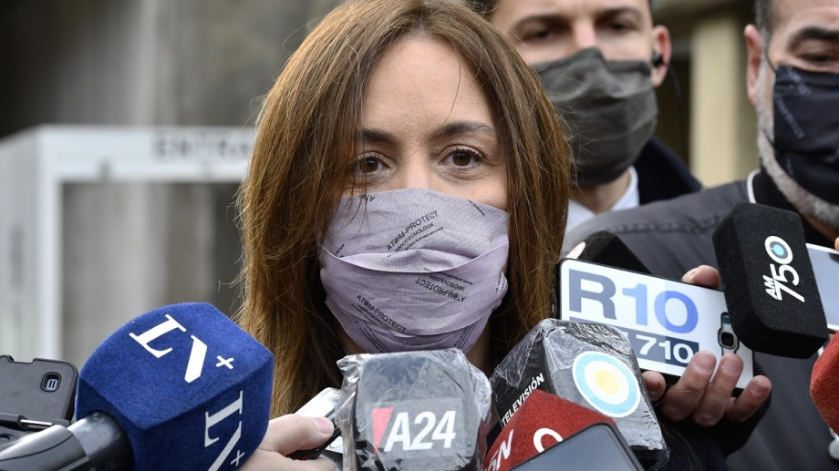 María Eugenia Vidal, candidata a diputada nacional por Juntos en CABA.