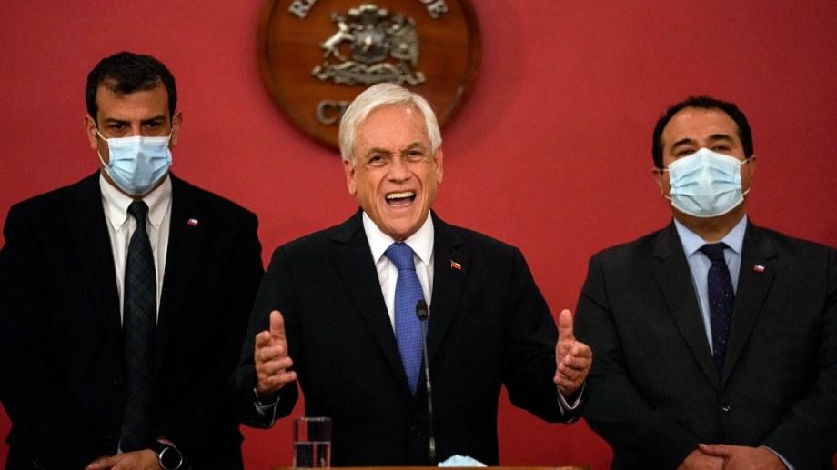 El anunció lo hizo hoy el presidente de Chile, Sebastián Piñera.