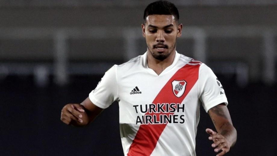 Martínez está en condiciones de volver al equipo titular de River, después de faltar a varios partidos por una lesión. Gentileza.