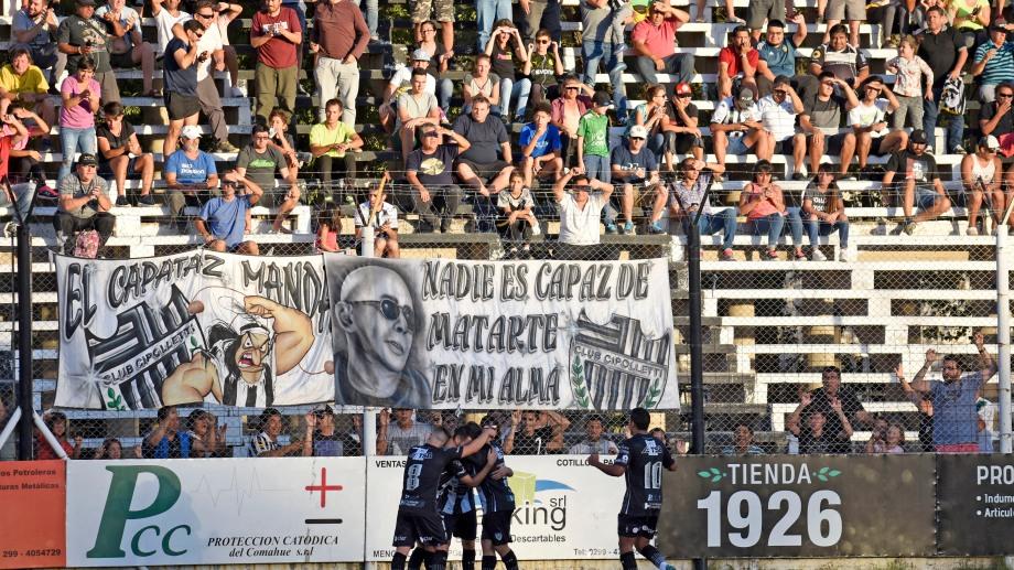 El público albinegro regresará a la cancha el domingo (Foto: Archivo Florencia Salto)