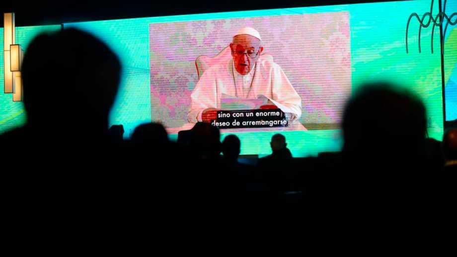 El Papa Francisco participó del 57° Coloquio de IDEA.