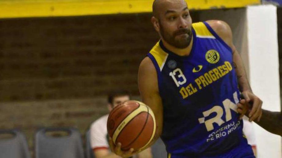 El basquetbolista jugó para Del Progreso en la temporada 2018/19. foto: archivo.
