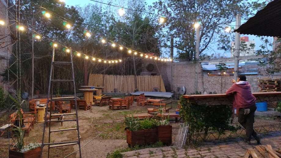La reapertura del patio será mañana a las 20:30. Foto CDC