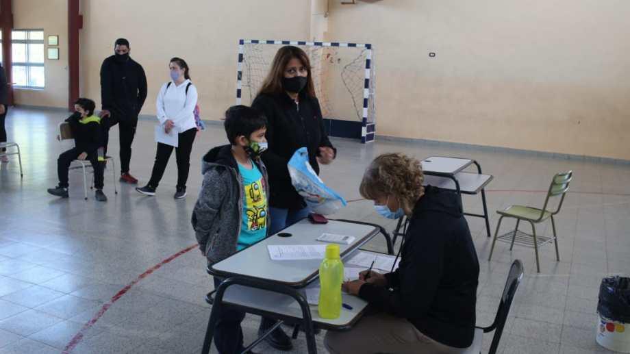Escuela nº32 de General Roca. Foto: Juan Thomes