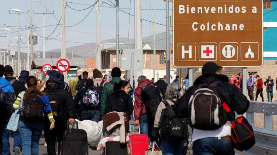El norte de Chile es el ingreso para miles de inmigrantes.