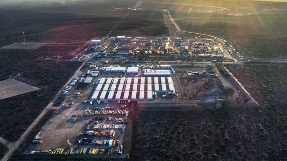 El yacimiento es el principal bloque productor de gas natural del país.