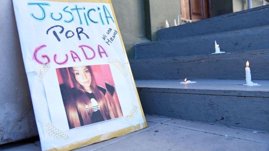 La joven de 20 años fue asesinada el 23 de febrero pasado. Foto Florencia Salto.