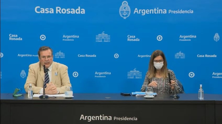 Foto: Transmisión conferencia de prensa.