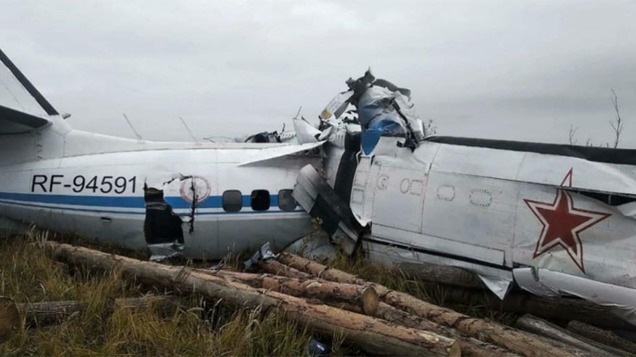 El avión, fabricado en la República Checa y de tipo L-410, se estrelló en la república de Tartaristán.