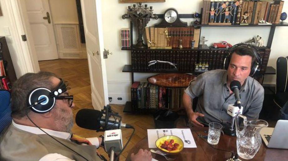 El periodista Jorge Lanata entrevistó a Chano, en un diálogo franco sobre las adicciones.-