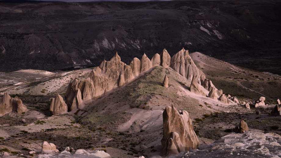 Los Bolillos, a 19 km de Varvarco. Foto: Martín Muñoz.