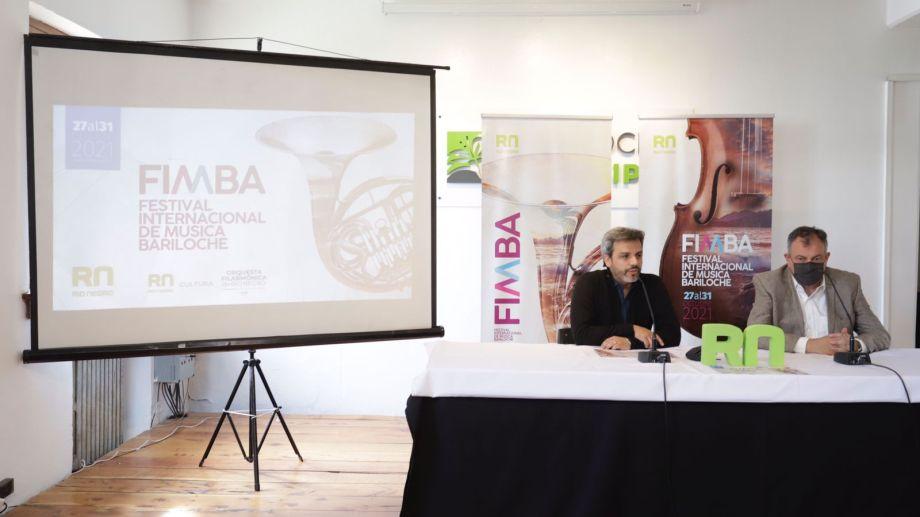 El Festival Internacional de Música Bariloche vuelve a fin de mes con su segunda edición. Foto: gentileza