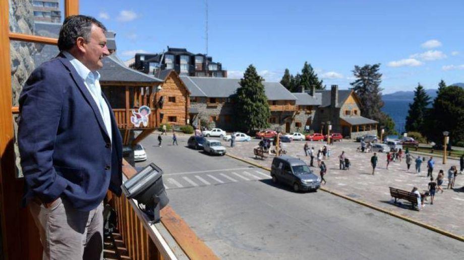 Gustavo Gennuso  Intendente de Bariloche, en una foto tomada a poco de asumir, en 2016. Foto: Archivo.