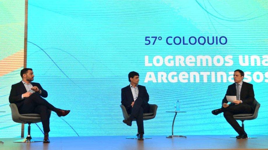 Álvarez Agis y Lacunza en IDEA participaron de un ping pong de preguntas.