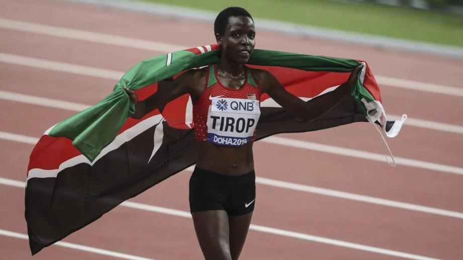 La keniata es campeona mundial en su categoría y tenía apenas 25 años. Un caso que conmueve al mundo entero.