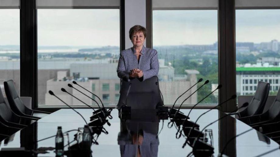 Kristalina Georgieva fue ratificada al frente del FMI.
