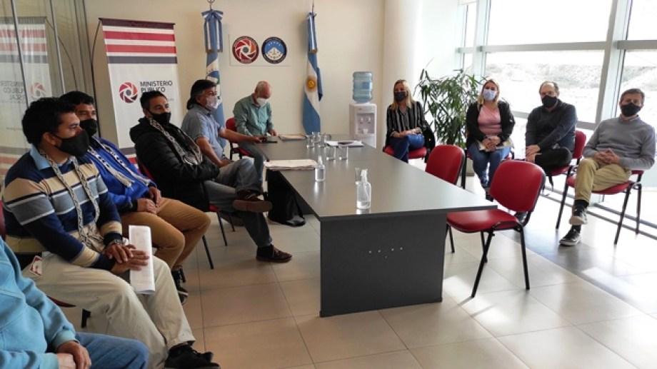 En la primera reunión que fue convocada por la Fiscalía de Neuquén se llegó al acuerdo para retomar el relevamiento (Ministerio Público Fiscal)