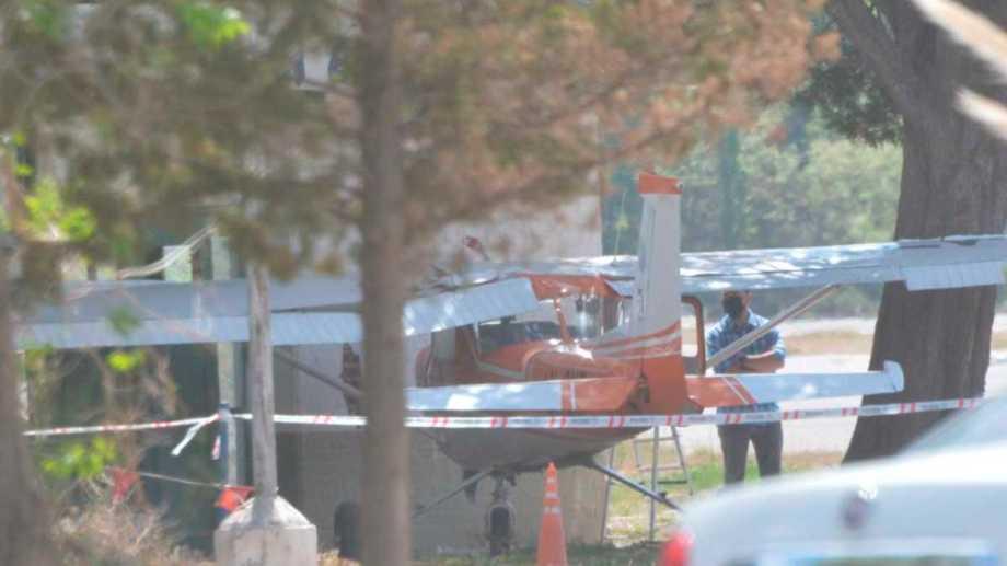 una Junta investigará sobre el incidente de la avioneta en Neuquén. Foto: Yamil Regules