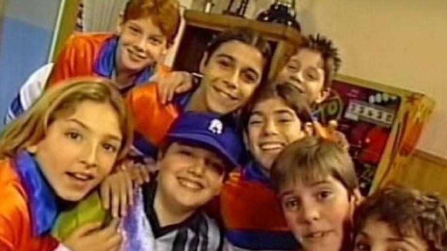 El elenco de Cebollitas estaba integrado por niños que iban de los 8 a los 15 años.-