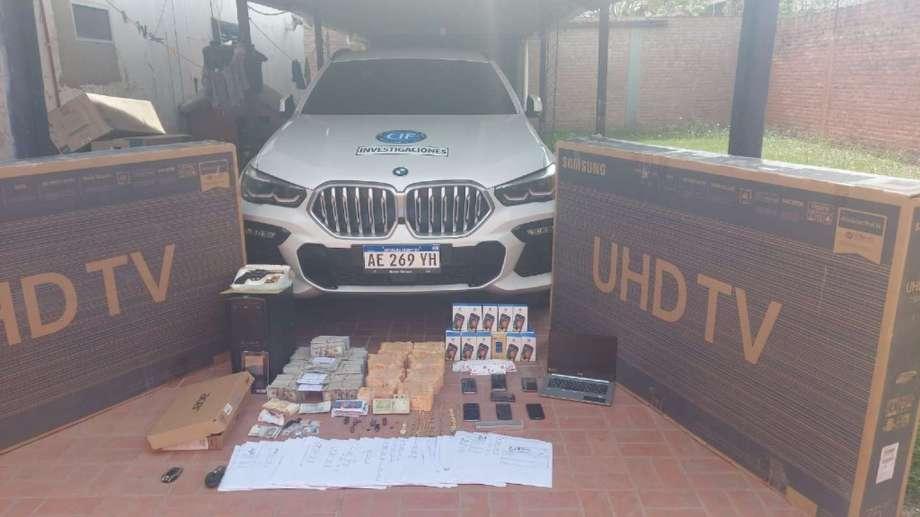 El intendente de Salvador Mazza tenía efectivo en una caja fuerte por un valor de 200 millones de pesos.