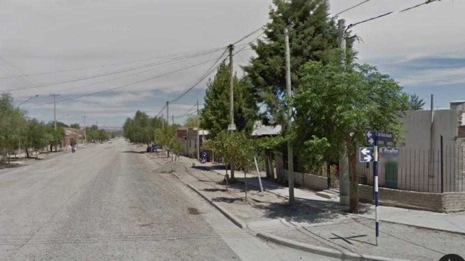 El violento episodio se registró en cercanías de San Juan y Picaflor. Foto: Google Maps.-