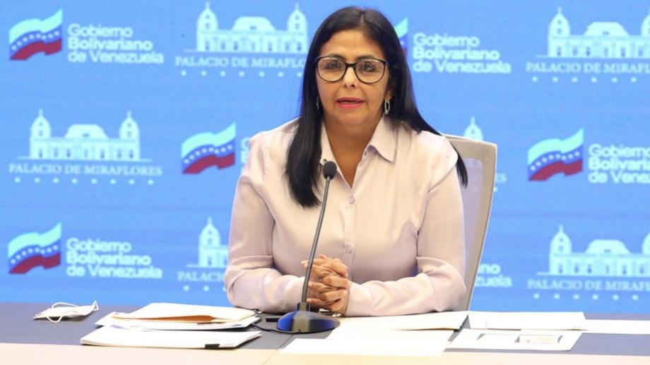 Así lo anunció la vicepresidenta de Venezuela, Delcy Rodríguez.