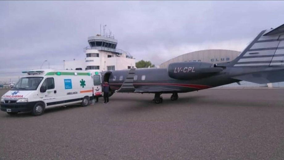 El aeropuerto de Roca no pudo usarse en tres casos de donación de ...