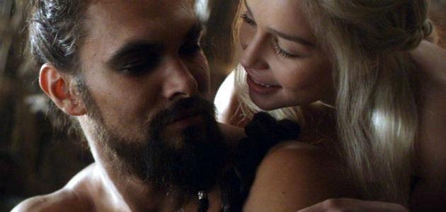 Juego De Los Tronos Emilia Clarke Y El Pene De Khal Drogo